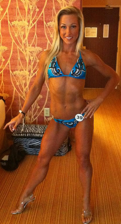 46kg Female with 4% Body Fat