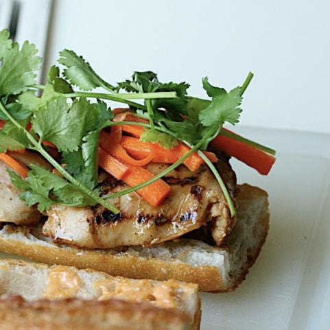Marinated Chicken Baguette