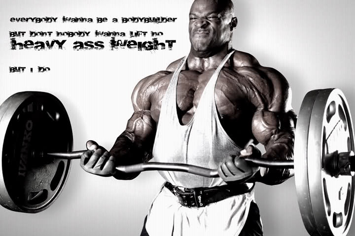 Ronnie Coleman Motivational Wallpaper