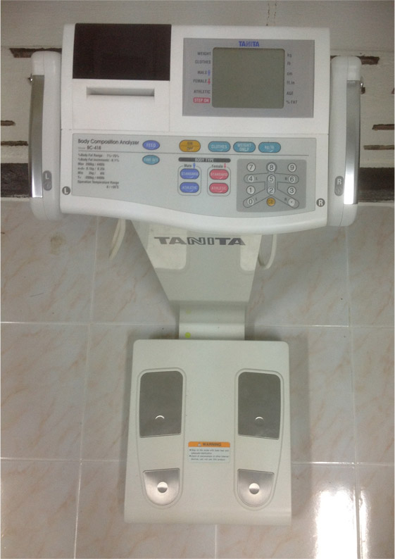 body fat monitor tanita