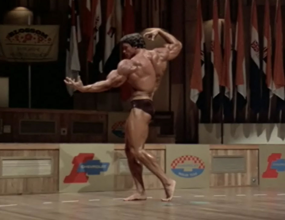 Arnold Atlas Pose