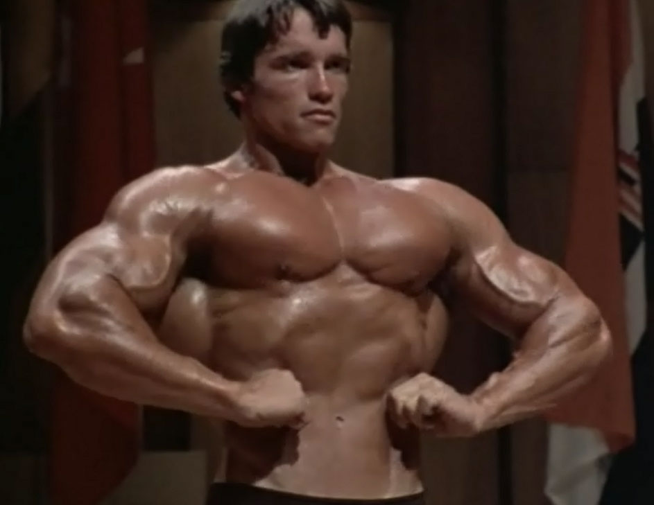 Arnold Lat Spread Pose