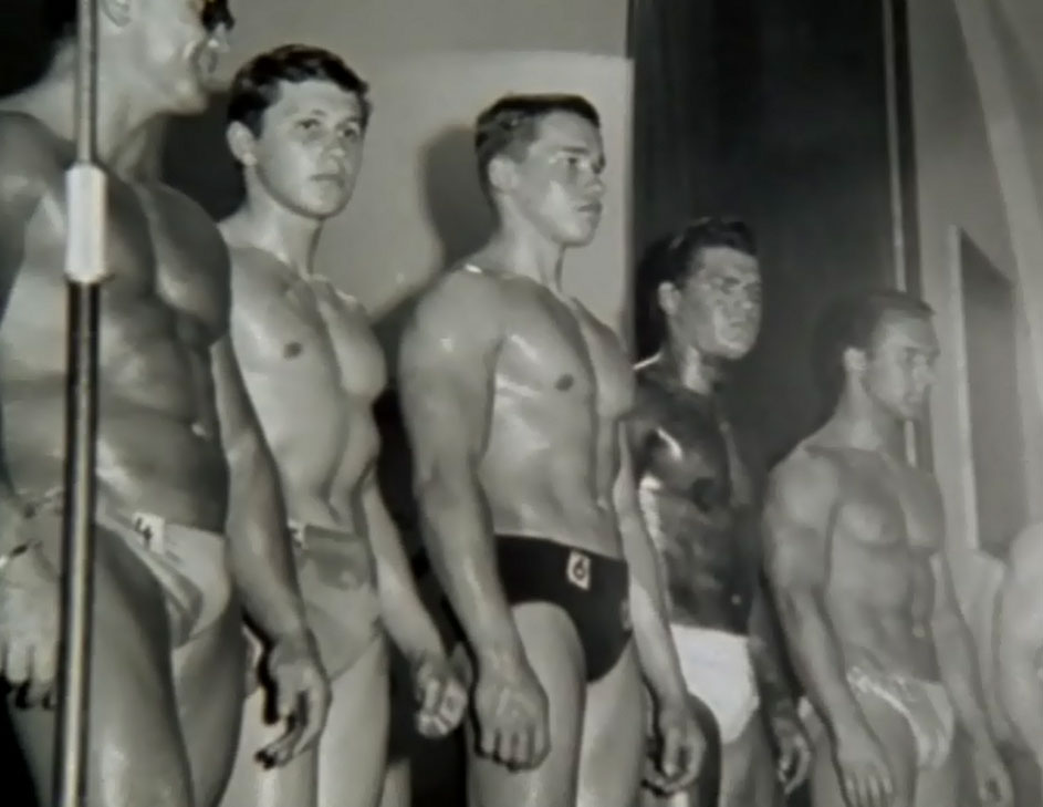 Arnie Wins the Junior Mr Europe Competition