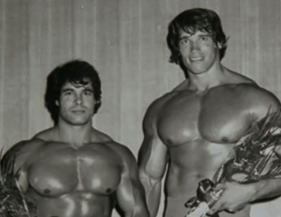 Arnold is Taller than Franco Columbu