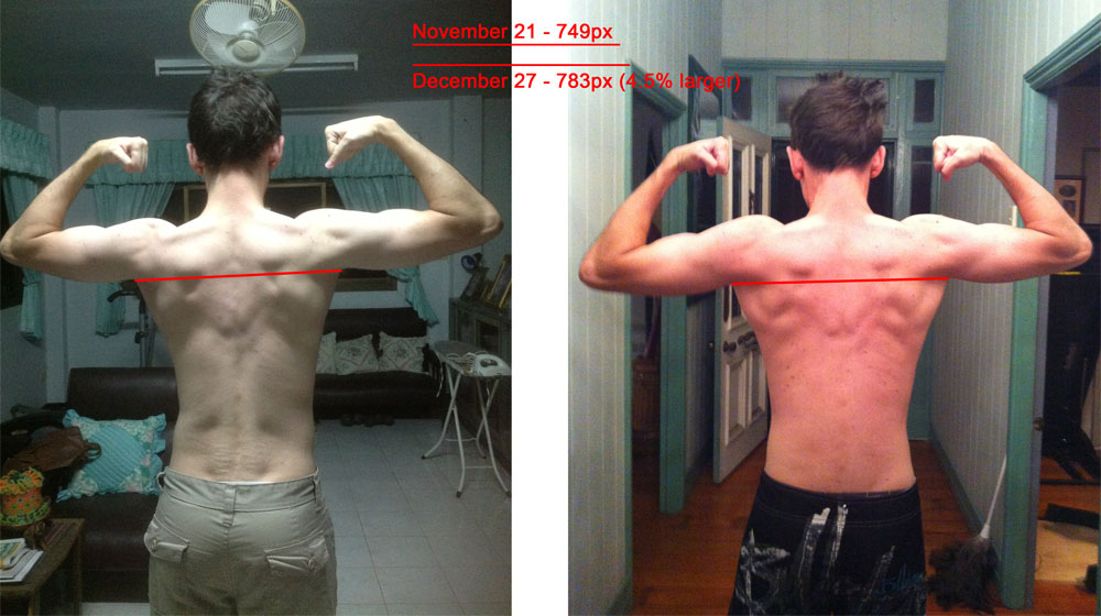 Before and After Pullups