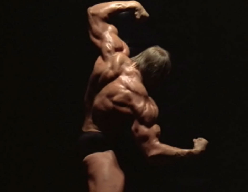 Mike Katz Back Double Biceps Pose