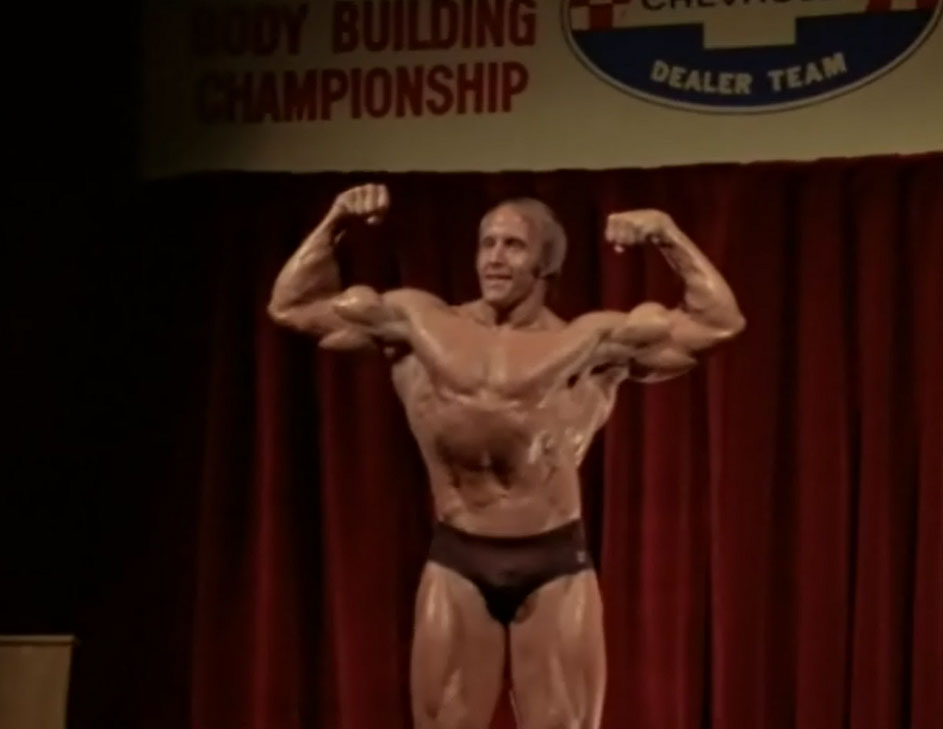 Mike Katz Front Double Biceps Pose