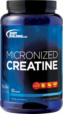 Bodybuilding.com Micronized Creatine Powder