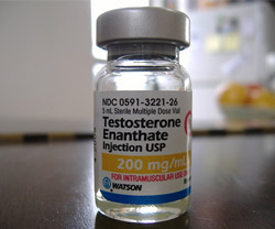 Testosterone Vial