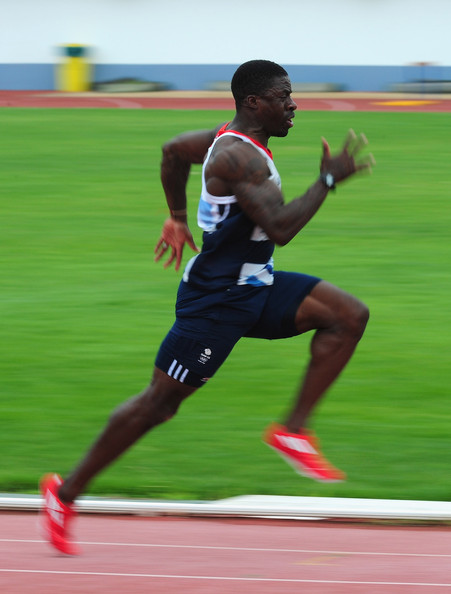 Dwain Chambers Sprinter Muscles