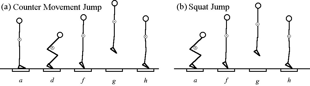 Counter Movement Jump and Squat Jump