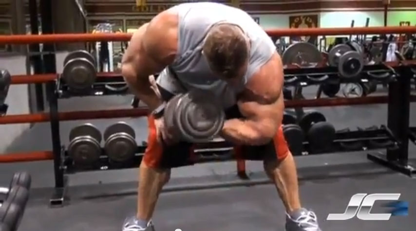 Standing Bent Over Concentration Curls