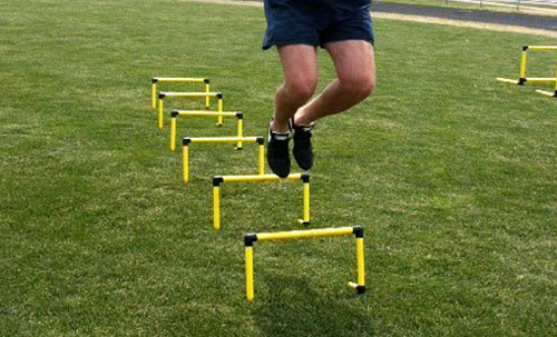 Double Leg Hurdle Hops