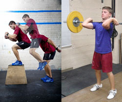 Plyometrics and Weight Lifting