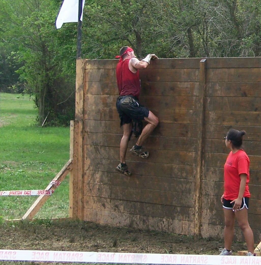 Spartan Race High Wall