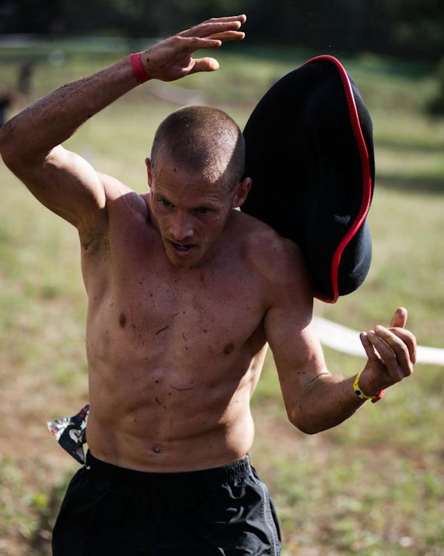 Spartan Race Sandbag Carry