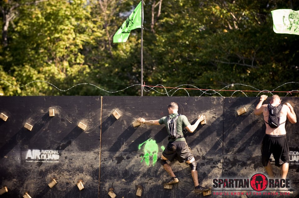 Spartan Race Traverse Wall
