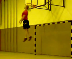 Vertical Jump Head to Hoop