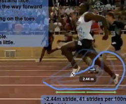 Usain Bolt Sprint Analysis
