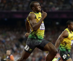 Usain Bolt Hip Flexors